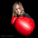 Little Girl Boxer