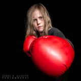 Little Girl Boxer