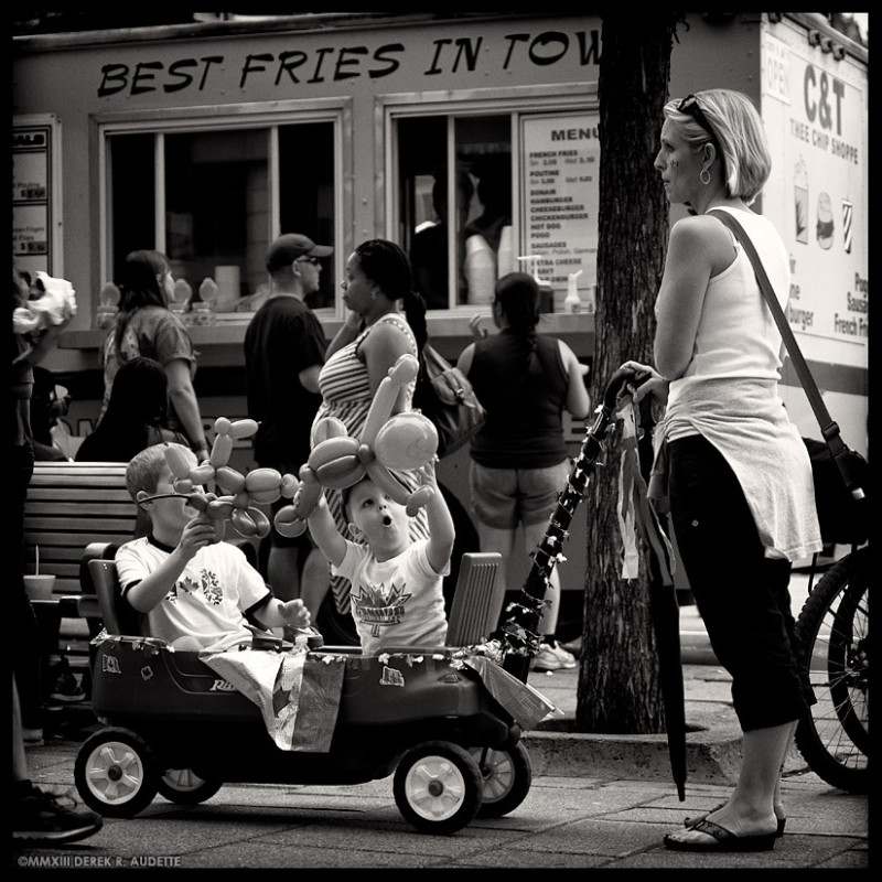 Best Fries in Town - Street Photography by Derek R. Audette