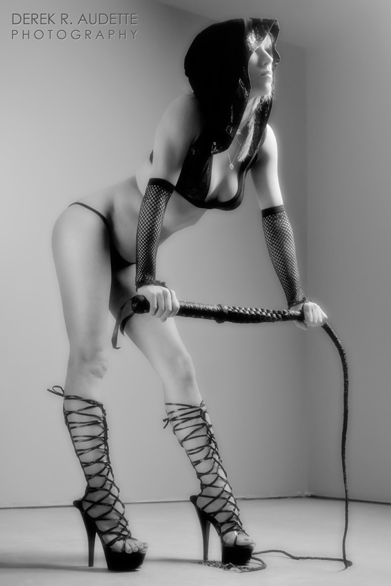 """Woman with Whip"" (2011) by Derek R. Audette"