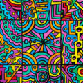 """A Blinding Vision at Morro do Vintem"" - Original artwork by Derek R. Audette"