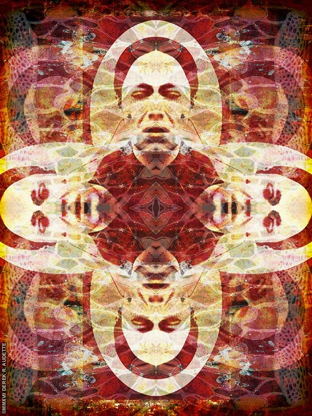"""Affected Weeping"" - Digital art by Derek R. Audette, ©MMXVII (All rights reserved)"