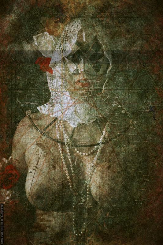 """""""La Virgulino Obskurita per Aĝo"""" - Digital art by Derek R. Audette ©MMXVII (All rights reserved)"""