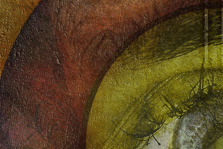 """""""Thy Redoubtable Eyes See All"""" closeup detail"""