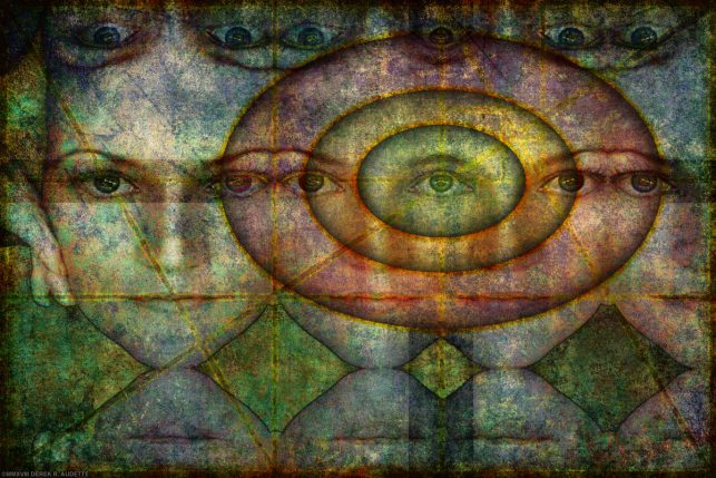 """""""To Know the Angels of Every Heaven"""" - Digital art / New Media by Derek R. Audette ©MMXVIII"""