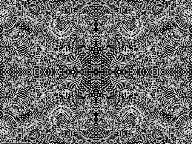 """""""A Conformity of Confusion"""" - Artwork by Derek R. Audette ©MMXVIII (Alk rights reserved)"""
