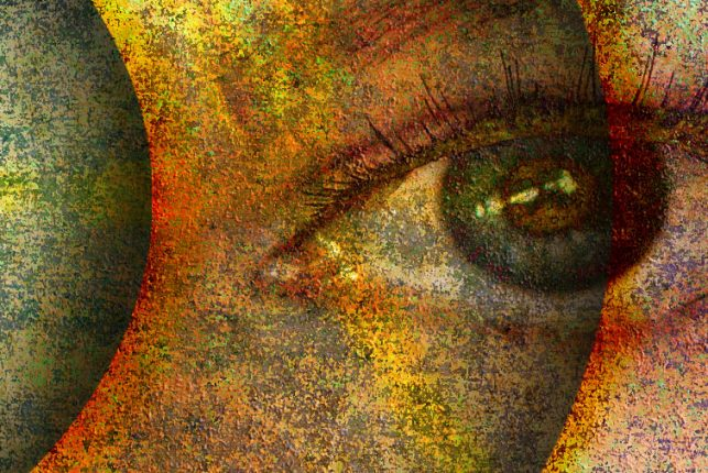 """""""To Know the Angels of Every Heaven"""" - Close-up detail 1."""